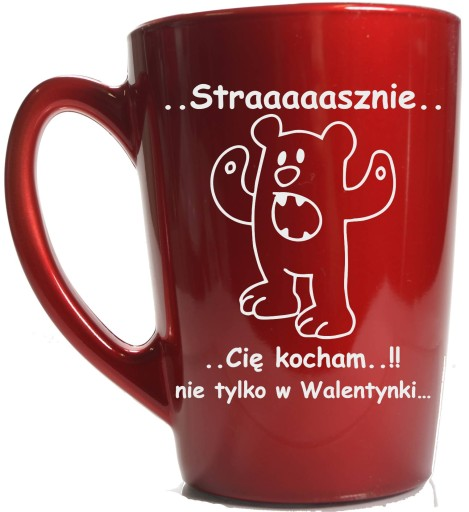 Kubek Szklany Z Grawerem Walentynki Dzien Chlopaka 7151501141 Allegro Pl