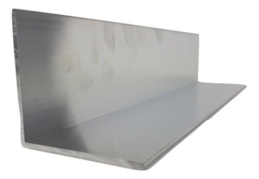 Kątownik Aluminiowy 80 x 40 x 3 mm dł 2m
