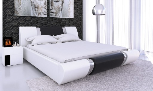 łóżko Do Sypialni 160x200 Materac Pojemnik Hit 7262472851