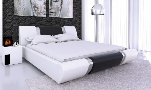 łóżko Do Sypialni 140x200 Materac Pojemnik Hit
