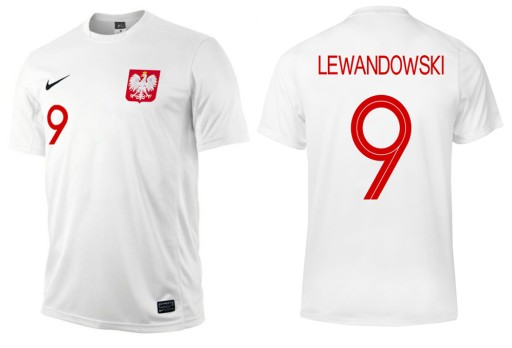 Koszulka Nike Polska Lewandowski 2018 Xl 7341672931 Allegro Pl
