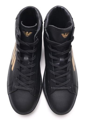 ad1bb74b13bb6 EA7 Emporio Armani buty sneakersy męskie GOLD 45 7789672721 - Allegro.pl