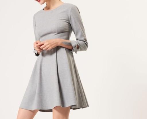 e43c41c1f5 MOHITO 40 L kolor sukienki jasny SZARY (7476554503) - Allegro.pl ...