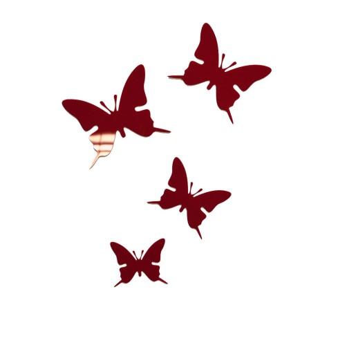 Motyle Akrylowe Przyklejane Dekoracja Motylki