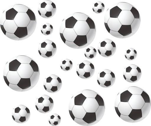 6ef9c4304 naklejki dla dzieci na ścianę piłki piłka nożna 7455276919 - Allegro.pl