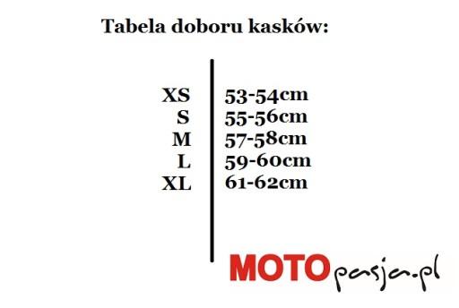 Kask szczękowy CABERG TOURMAX Biały -M