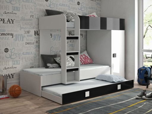 łóżko Piętrowe Antresola Toledo 2 Z Drabinką