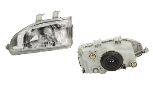 HONDA CIVIC 5 V 91- EG EJ EH9 REFLEKTOR LAMPA L
