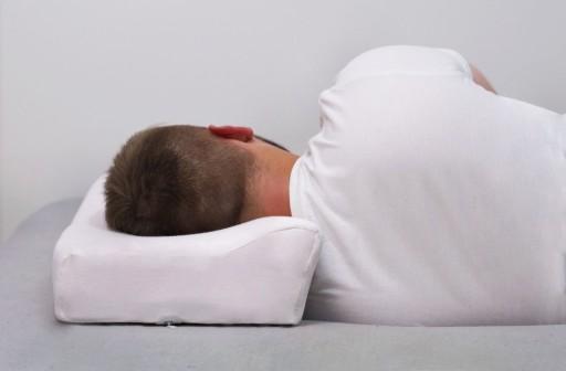PODUSZKA ORTOPEDYCZNA do spania na ból kręgosłupa