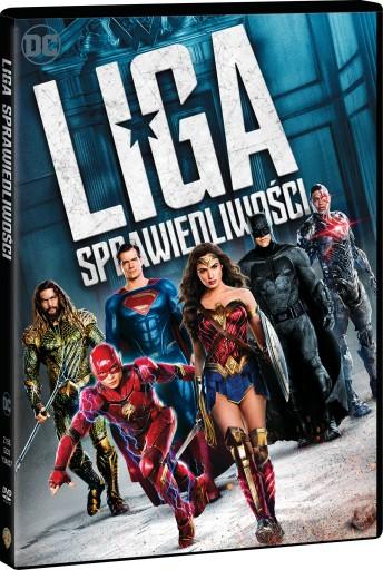LIGA SPRAWIEDLIWOŚCI DVD PL