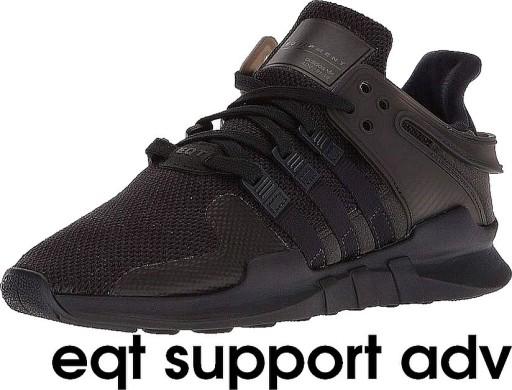 Buty adidas EQT SUPPORT ADV, Czarne, r 38 (23.5cm)