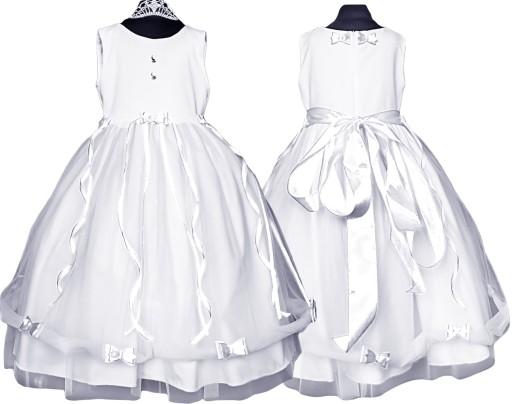 Sukienka tiulowa BETI wesele Producent bł 134/140