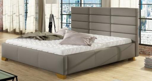 łóżko Mars 200 X 220 Stelaż Tapicerowane łoże