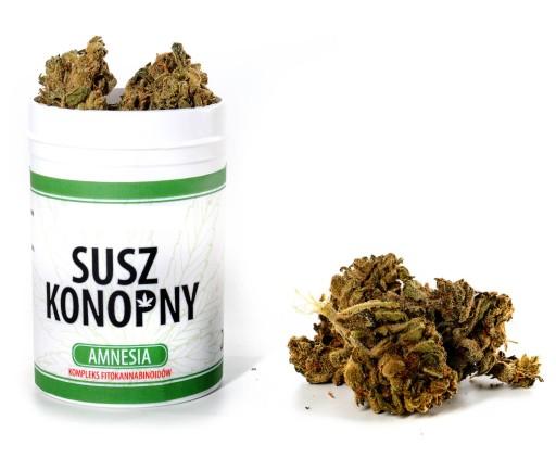 Susz konopny 5% CBD 2g Amnesia - Kwiaty CBD