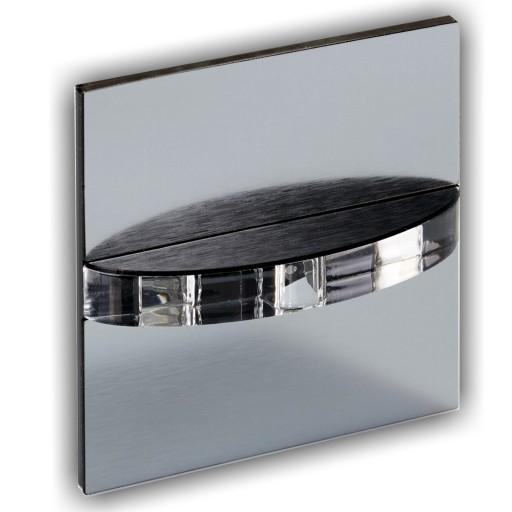 Lampka Schodowa 230v Oświetlenie Schodowe Q8 Inox