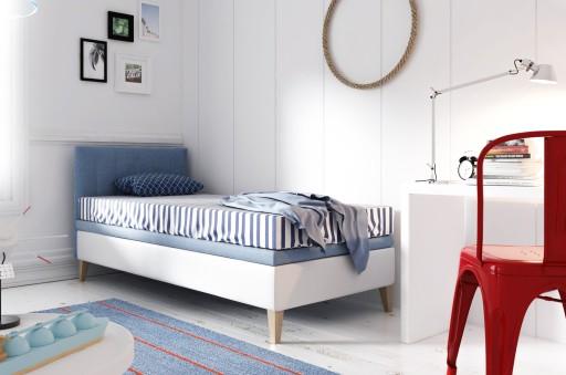Intaro A8 Pojedyncze łóżko Tapicerowane 90x200