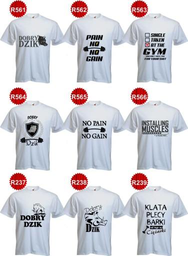 Koszulka Na Silownie Lakoks Smieszne Koszulki 7619411993 Allegro Pl