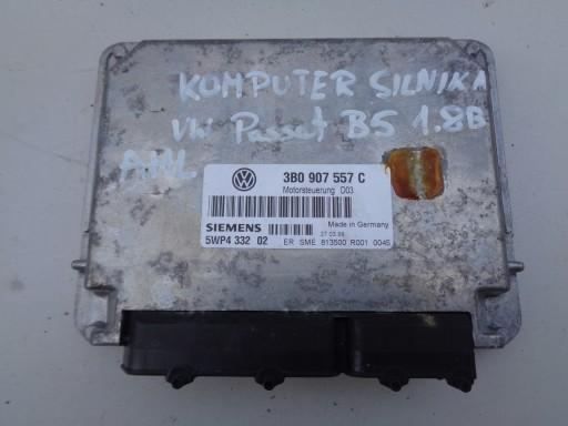 KOMPJUTER MOTORA VW PASSAT B5 1.8B AHL 3B0907557C