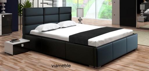 łóżko Do Sypialni 160 X 200 Stelaż Pojemnik Tanio