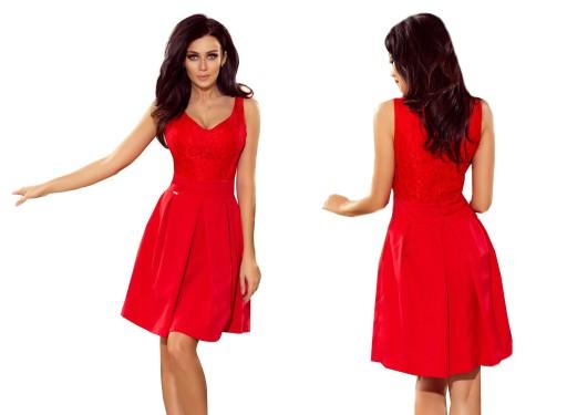 4b90597176 ELEGANCKA Sukienka BALOWA NA KARNAWAŁ 208-2 S 36 7588209169 - Allegro.pl - Więcej  niż aukcje.