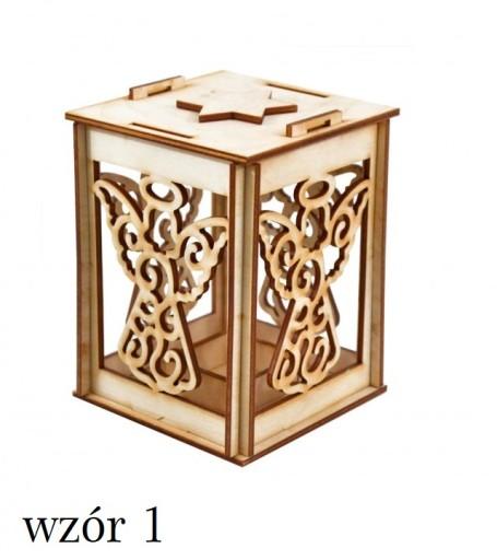 Drewniany Lampion Na Roraty Adwent Wzory Tealight 7662888813 Allegro Pl