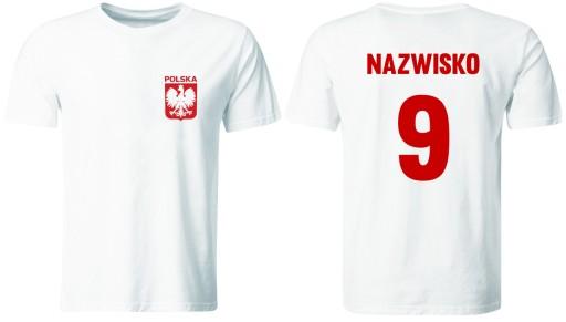 Koszulka Reprezentacji Polski Z Wlasnym Nadrukiem 6208891533 Allegro Pl