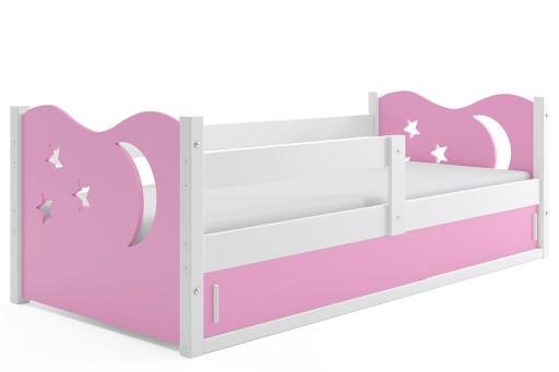 łóżko Dziecięce Mikołaj 1 Dla Dzieci 160x80 Stelaż 7501076233