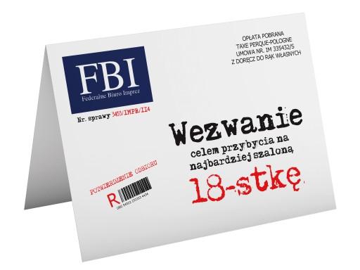 51wzorów Zaproszenia Na Urodziny 18 Zawieszki 6942617917