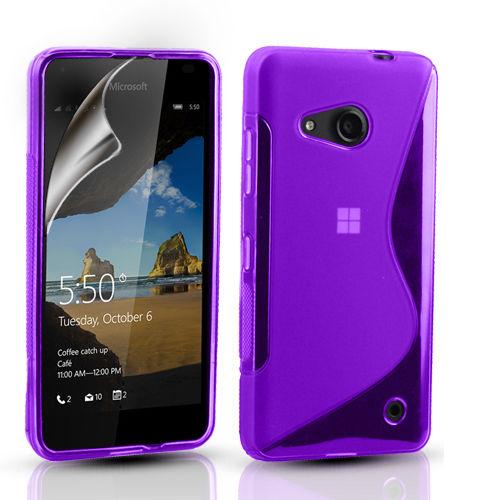 Microsoft Lumia 550 Guma Gumowe Etui Case S Line 6808127549 Sklep Internetowy Agd Rtv Telefony Laptopy Allegro Pl