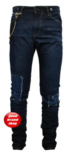 PULL&BEAR męskie jeansy rurki r38 / pas 78 cm