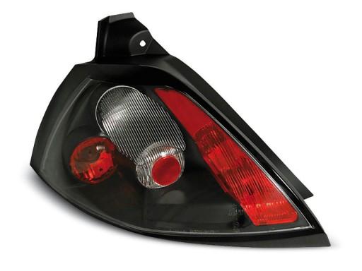 Lampy Tylne Renault Megane 2 02 05 Tuning Black