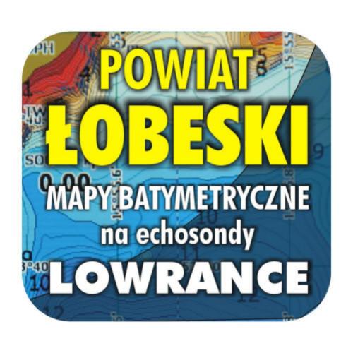Powiat łobeski - mapy na echosondy Lowrance Simrad