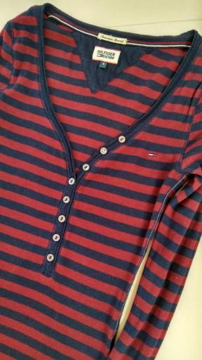 Longsleeve Tommy Hilfiger denim S 36 damska bluzka