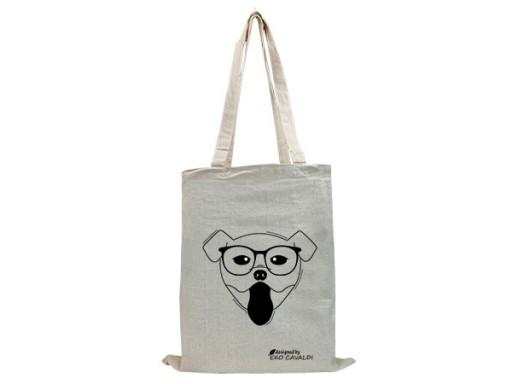 EKO BAG torba bawełniana ekologiczna NADRUK KAWA
