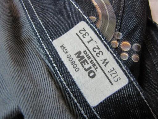 DIESEL IndustrY Oryginalne Spodnie Jeans W 32 L 32 10495702224 Odzież Męska Jeansy VV FMNDVV-7