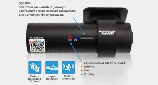 Wideorejestrator BlackVue DR750S-1CH GPS FHD