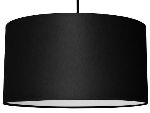 Lampa Wisząca Abażur Nowoczesna Materiał 40 cm LED