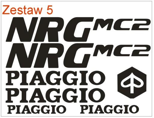 Naklejki Piaggio nrg 46 mc2 mc3 mc 2 3 extreme