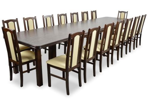 Stół Rozkładany 4m Krzesła 16szt Różne Kolory 6957668737 Allegropl