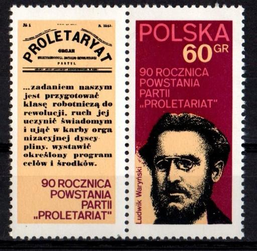 POLSKA Fi. 2024** Proletariat 1972r.