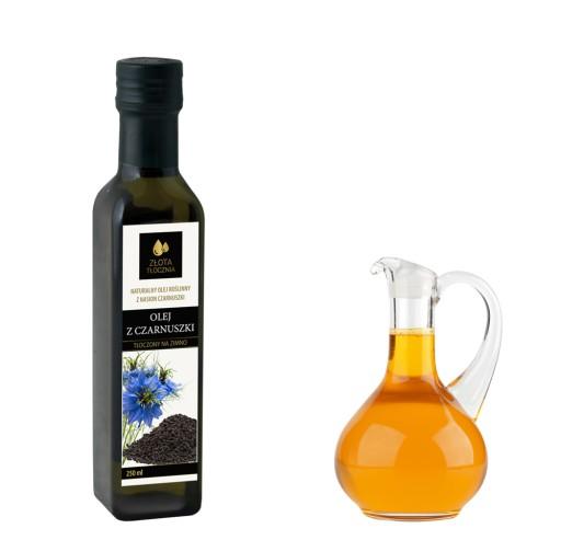 Olej z czarnuszki 250ml zimnotłoczony 100% świeży