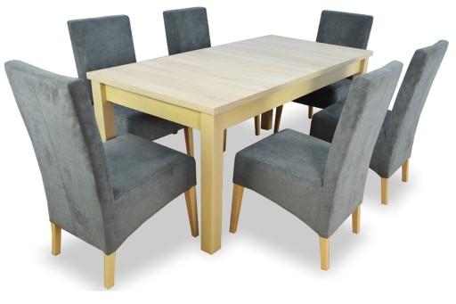 Zestaw Stół I Krzesła Fotele Tanio Komplet Mebli 6850281573 Allegropl