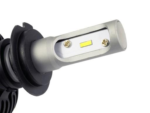 Zestaw LED H7 CSP 50W żarówki DZIEŃ/NOC 8000LM GW