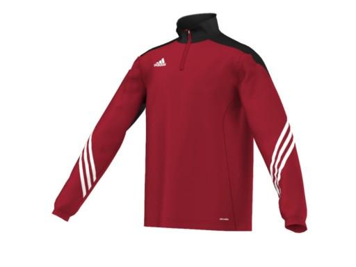 Bluza ADIDAS Sereno 14 czerwona 128 cm Wyprzedaż %