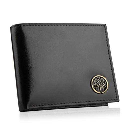 ca60f2e8b49e8 Skórzany portfel męski Betlewski RFID cienki slim 7289954487 ...