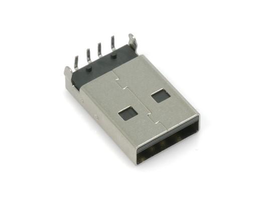 Złącze USB A wtyk kątowy do druku PCB 1szt. (1988)