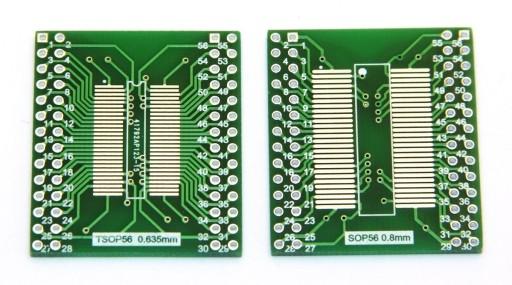 Adapter04 przejściówka SOP56 TSOP56 na DIP56