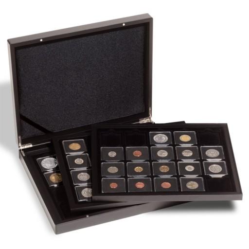 Kaseta na 60 monet w kapslach Quadrum - Leuchtturm