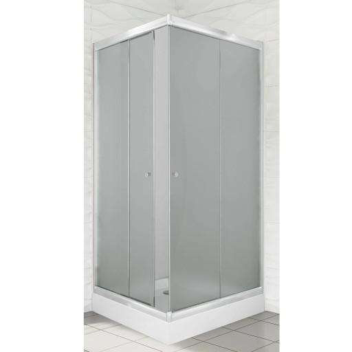 Kabina Prysznicowa Mrożone Szkło 90x90 7336125519 Allegropl