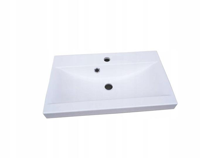 Мебель для ванной комнаты Белый Серый Сонома Глянец купить с доставкой из Польши с Allegro